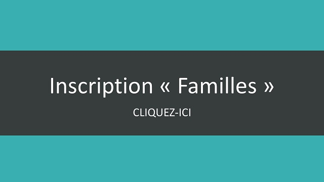 Inscription famille